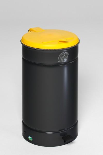Euro-Pedal, Kunststoffdeckel gelb
