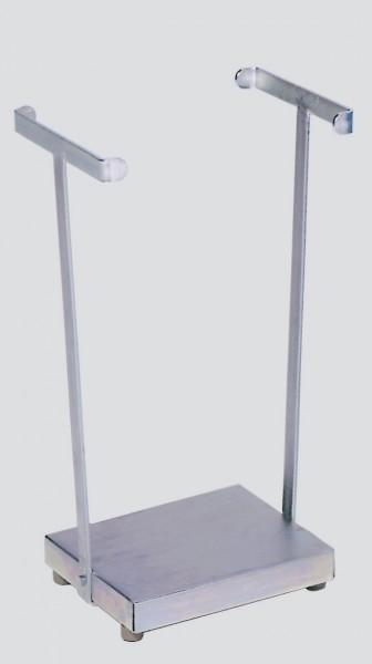 Abfallsammler Typ SH 60, verzinkt, stationär für 60/70 L Säcke