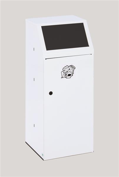 Wertstoffsammler WSG 69 mit Fronttür und Inneneinsatz