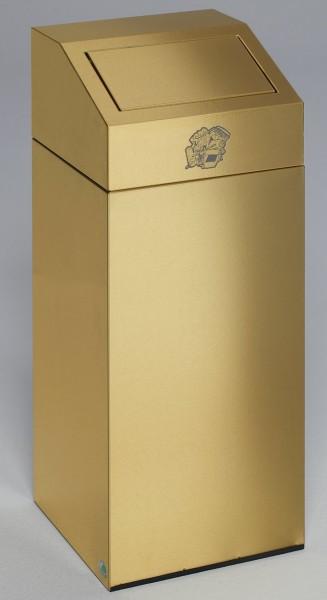 Messing- Ausführung: Abfallsammler 45 L