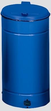 Euro-Pedal, Kunststoffdeckel blau