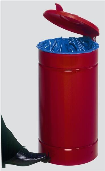 Euro-Pedal, Kunststoffdeckel rot
