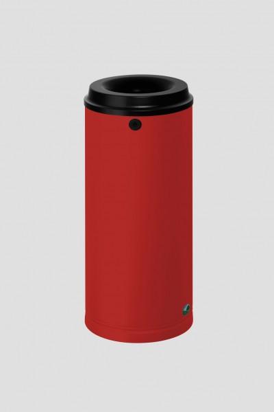 Papierkorb 24 Liter mit Wandhalterung