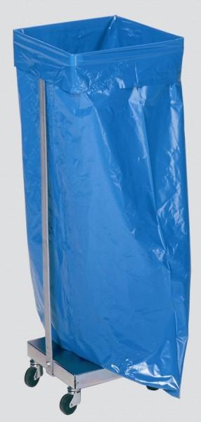 Abfallsammler Typ SHR 120, verzinkt, fahrbar für 120 L Säcke