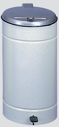 Euro-Pedal, Kunststoffdeckel silber